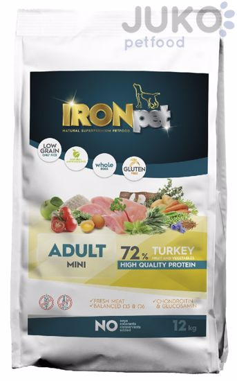 IRONpet TURKEY Mini Adult 12kg