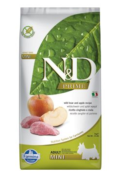 N&D PRIME DOG Adult Mini Boar & Apple 7kg