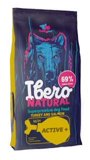 Ibero NATURAL dog ACTIVE plus 12+3kg