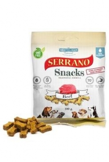 Serrano Snack for Dog- Beef 100g